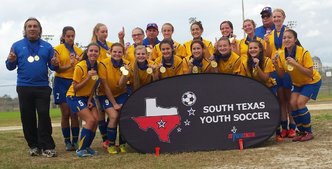 U16 Girls, the Surge, South Texas Youth Soccer Association's 2014 Fall State Champions